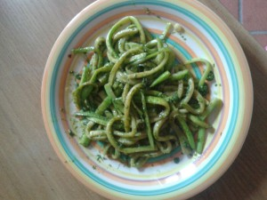 Zucchine al Pesto
