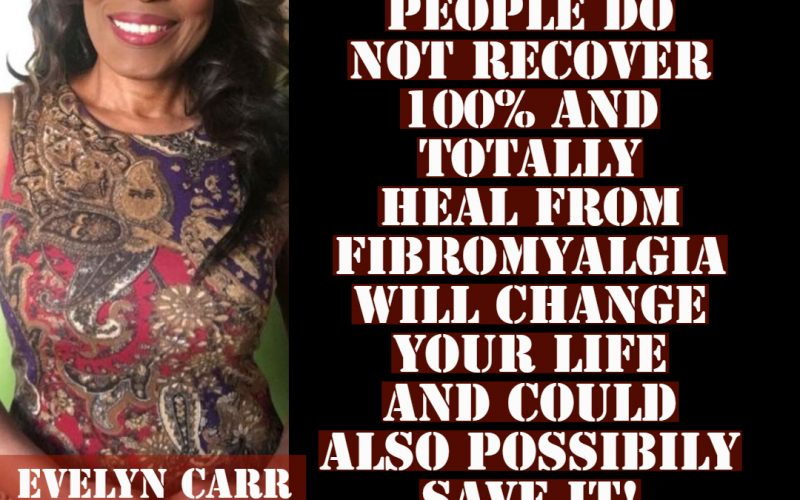 Understanding why people resist healing from Fibromyalgia will change your life and possibily save it too!