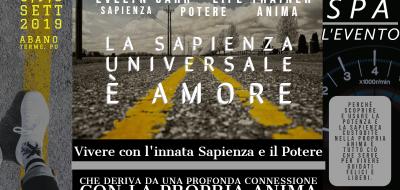 La Sapienza Universale è Dio e Dio è l'Amore -SPA l'Evento